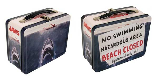 JAWS Officially Licensed Tin Lunch Box