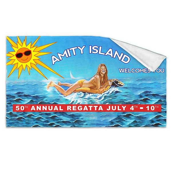 JAWS Amity Island Bath Towel