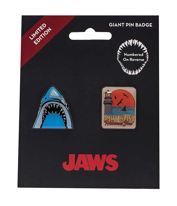JAWS Limited Edition Pin Badge Set