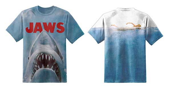JAWS Unisex Movie Poster T-Shirt