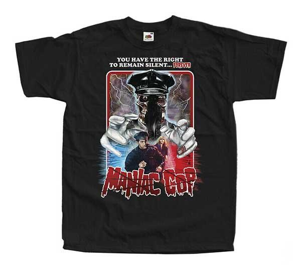 MANIAC COP Inspired Black T-Shirt