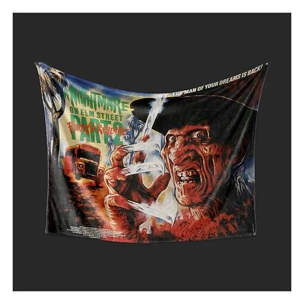 A NIGHTMARE ON ELM STREET 2 BLANKET