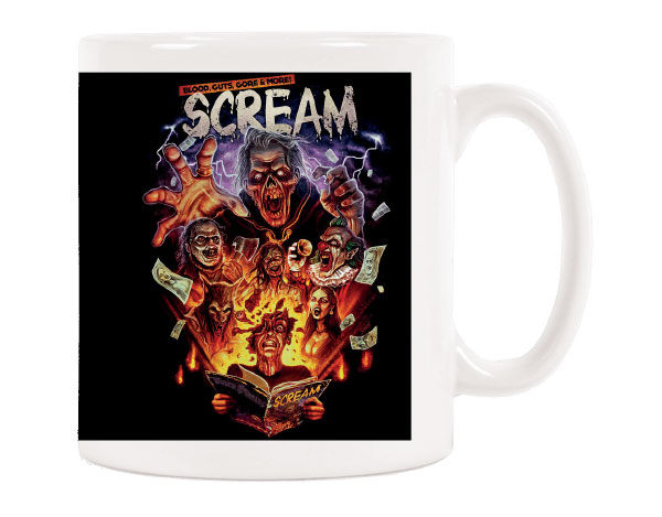 OFFICIAL CERAMIC SCREAM MUG