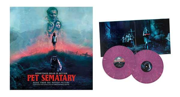 Pet Sematary 2019 Soundtrack 2 x VINYL LP