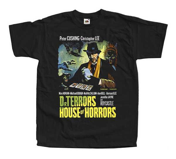 DR. TERROR'S HOUSE OF HORRORS Inspired Black T-Shirt