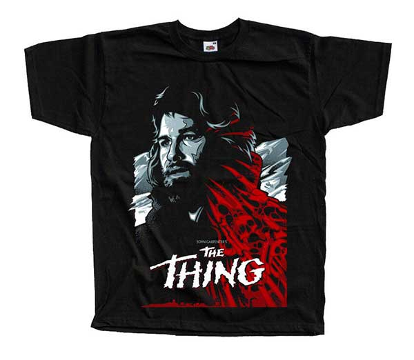 THE THING R.J. MacReady Inspired Black T-Shirt
