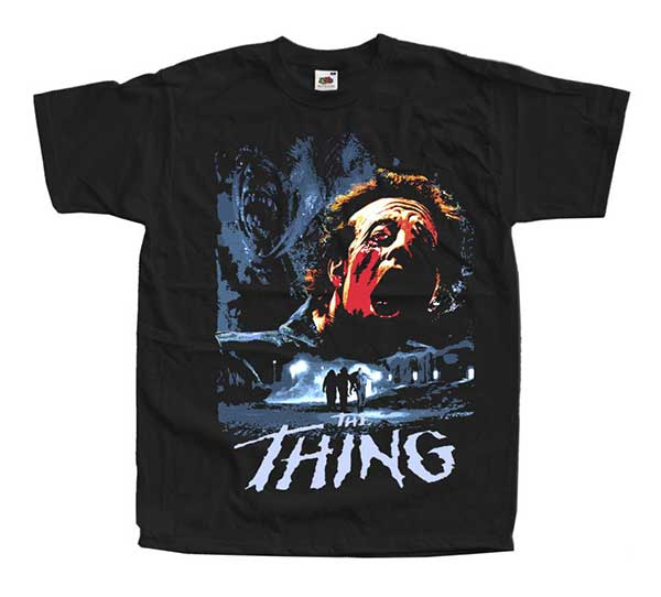 THE THING Arctic Inspired Black T-Shirt