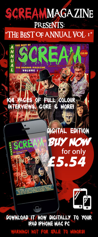 Buy and Download the Scream Horror Annual Digital Edition Now!