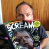 Warwick Davis Checks Out His Copy Of SCREAM MAG!