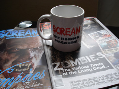 Advertise with Scream Horror Magazine UK