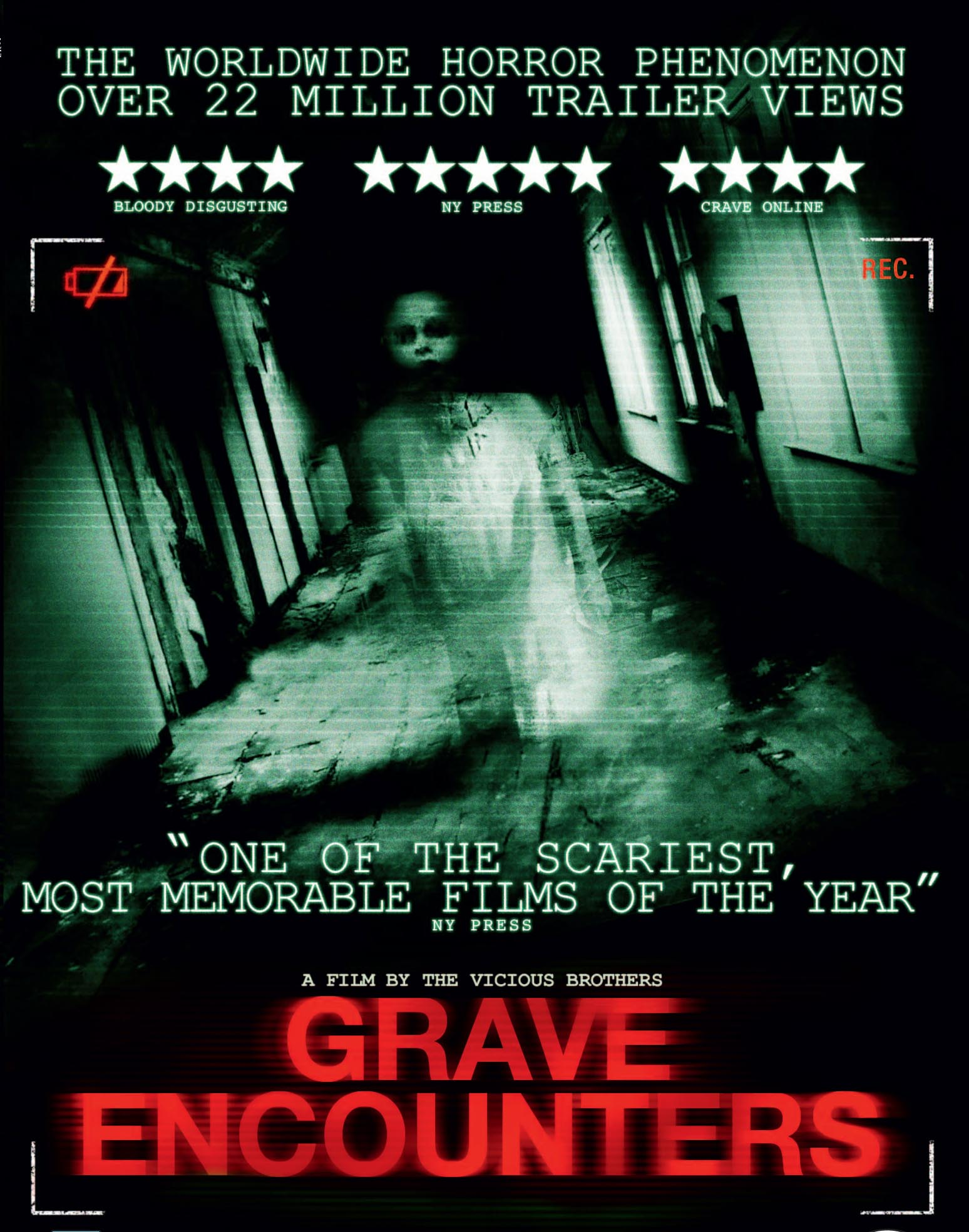 Pick A Part >> GRAVE ENCOUNTERS: Film Review - THE HORROR ENTERTAINMENT ...