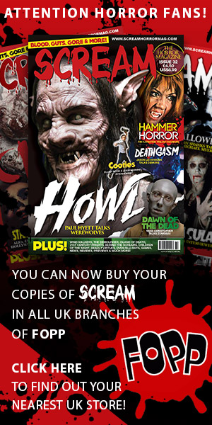 Scream Magazine FOPP UK Stores