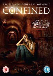 Confined - DVD box cover