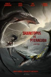 Sharktopus vs Pteracuda Poster