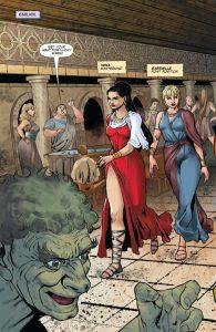 XENA #3: Comic Review - THE HORROR ENTERTAINMENT MAGAZINE