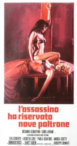 Eurohorror of the Week: The Killer Reserved Nine Seats ...