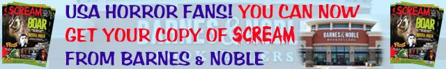 Scream Magazine at Barnes & Noble