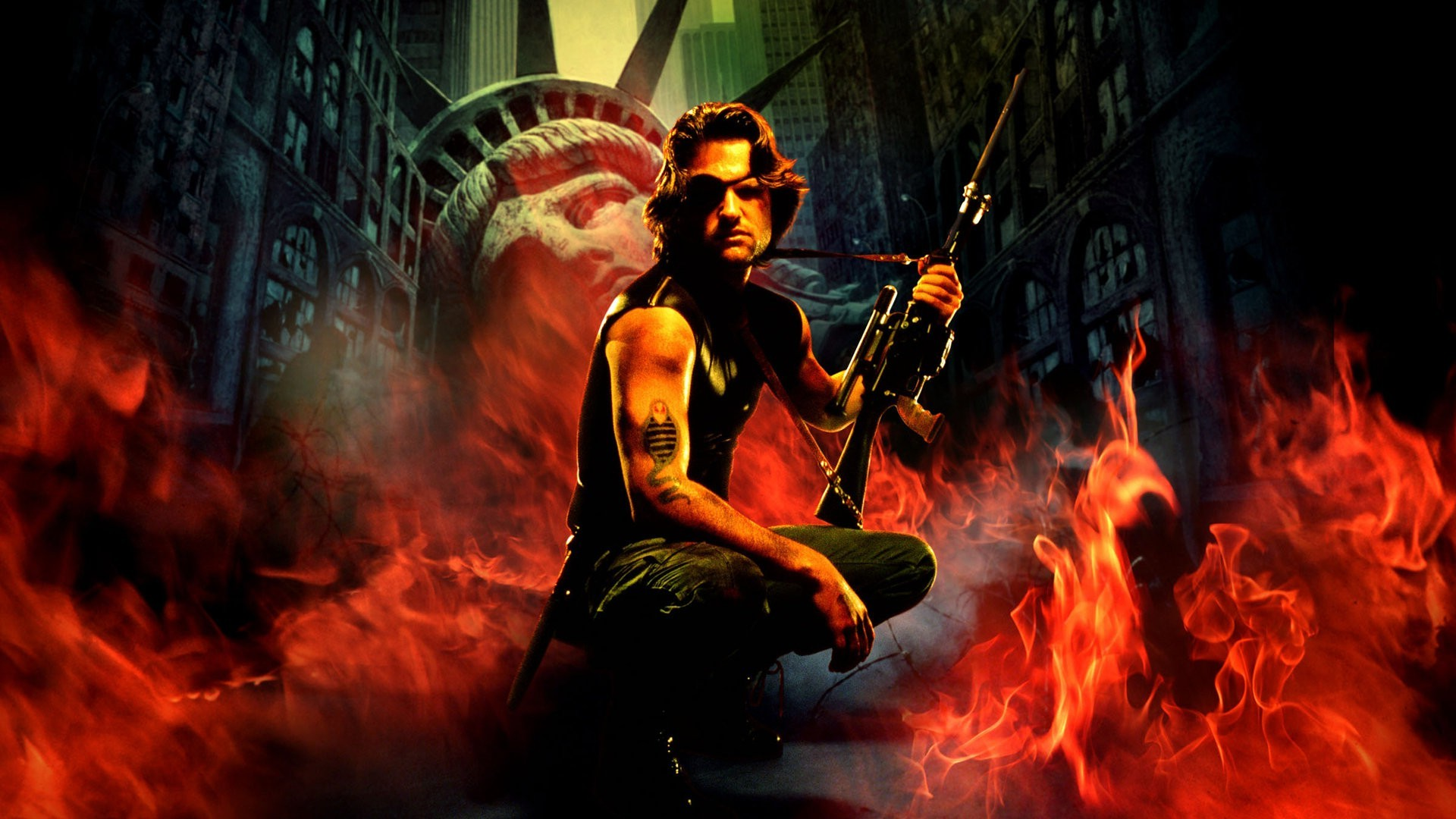 Win a 4K Ultra HD and Blu-ray 4 disc collection Edition of ESCAPE FROM NEW YORK