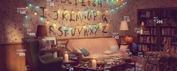 Ikea Recreates The Iconic Stranger Things Living Room The Horror